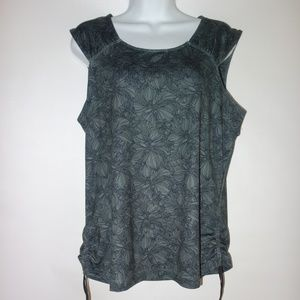 Merrell Sleeveless Top Women XL Opti Wick UPF 50+